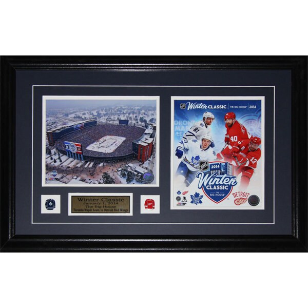 2014 Winter Classic Toronto Maple Leafs Detroit Red Wings 2-photo Frame