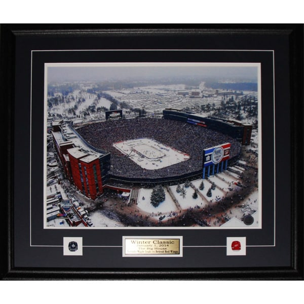 2014 Winter Classic Ann Arbour Stadium Big House 16x20-inch Frame