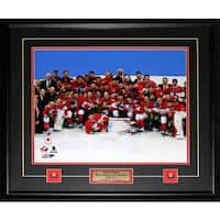 2014 Team Canada Men's Hockey Gold Medal Sochi 16x20-inch Frame