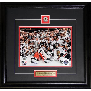 2013 Chicago Blackhawks Stanley Cup Team 8x10-inch Frame
