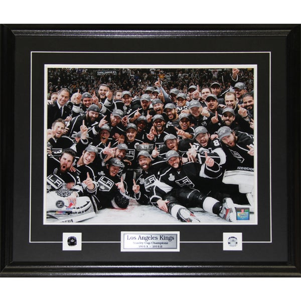2012 Los Angeles Kings Stanley Cup Champions 16x20-inch Frame