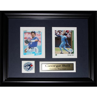 George Bell Toronto Blue Jays 2-card Frame