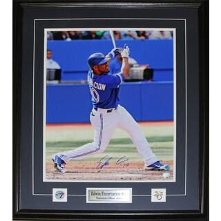 Edwin Encarnacion Toronto Blue Jays Signed 16x20-inch Frame
