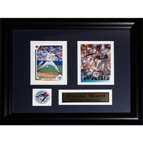Duane Ward Toronto Blue Jays 2-card Frame