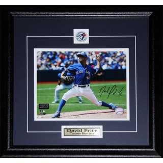 David Price Toronto Blue Jays Signed 8x10-inch Frame