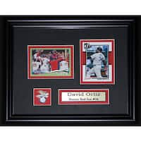 David Ortiz Boston Red Sox 2-card Frame