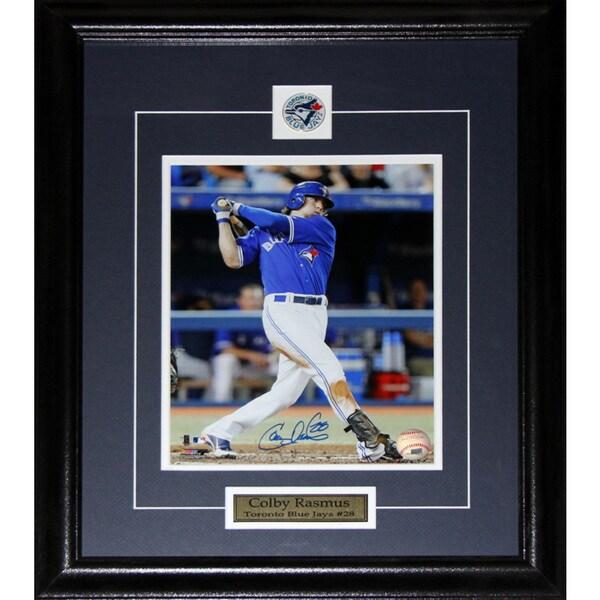 Colby Rasmus Toronto Blue Jays Signed 8x10-inch Frame