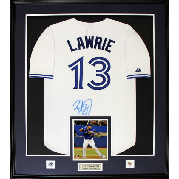 Brett Lawrie Toronto Blue Jays Signed Jersey Frame - Free Shipping ...