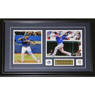 Brett Lawrie Toronto Blue Jays Signed 2-photo Frame