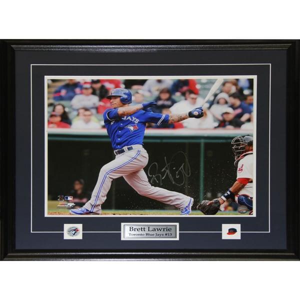 Brett Lawrie Toronto Blue Jays 16x20-inch Signed Frame