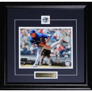 Aaron Sanchez Toronto Blue Jays Signed 8x10-inch Frame