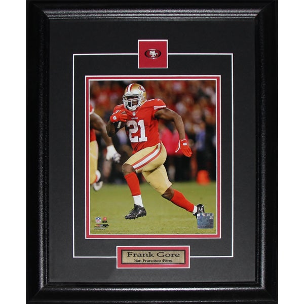 Frank Gore San Francisco 49ers 8x10-inch Frame
