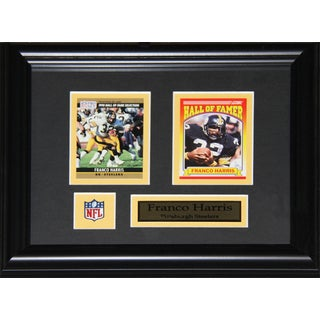 Franco Harris Pittsburgh Steelers 2-card Frame