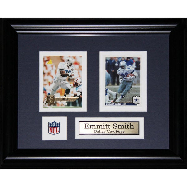 Emmitt Smith Dallas Cowboys 2-card Frame