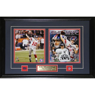 Eli Manning Superbowl Xlii New York Giants Mvp 2-photo Frame