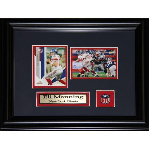 Eli Manning New York Giants 2-card Frame
