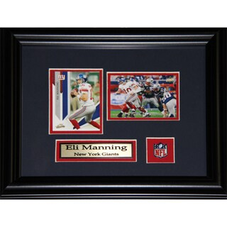 Eli Manning New York Giants 2-card Frame