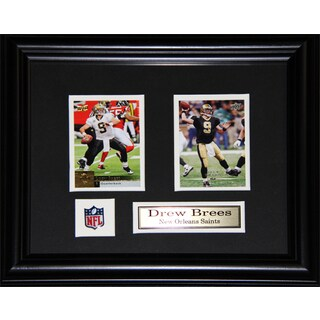 Drew Brees New Orleans Saints 2-card Frame