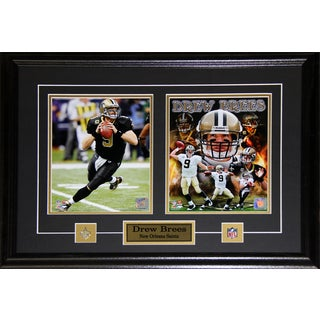 Drew Brees New Orlean Saints 2-photo Frame
