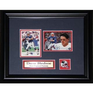 Drew Bledsoe New England Patriots 2-card Frame