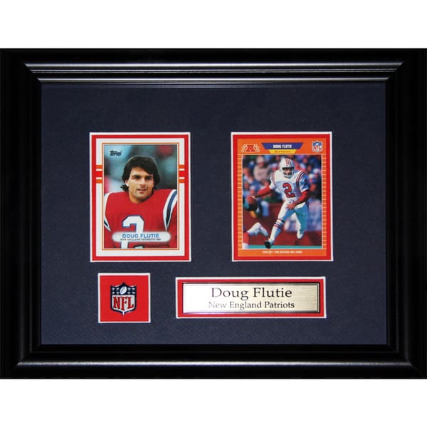 Doug Flutie New England Patriots Nfl 2-card Frame