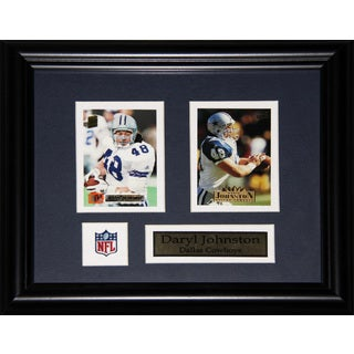 Daryl Johnston Dallas Cowboys 2-card Frame