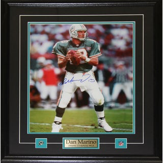 Dan Marino Miami Dolphins Signed 16x20-inch Frame