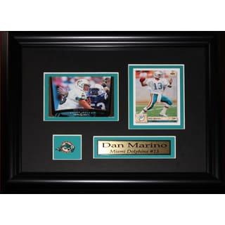 Dan Marino Miami Dolphins 2-card Frame