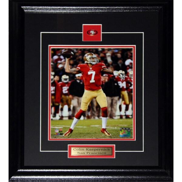 4e90cd43fdf Shop Colin Kaepernick San Francisco 49ers 8x10-inch Frame - Free ...