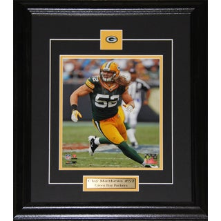 Clay Matthews Green Bay Packers 8x10-inch Frame