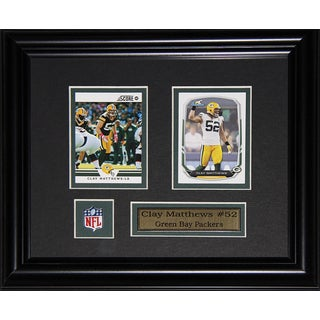 Clay Matthews Green Bay Packers 2-card Frame
