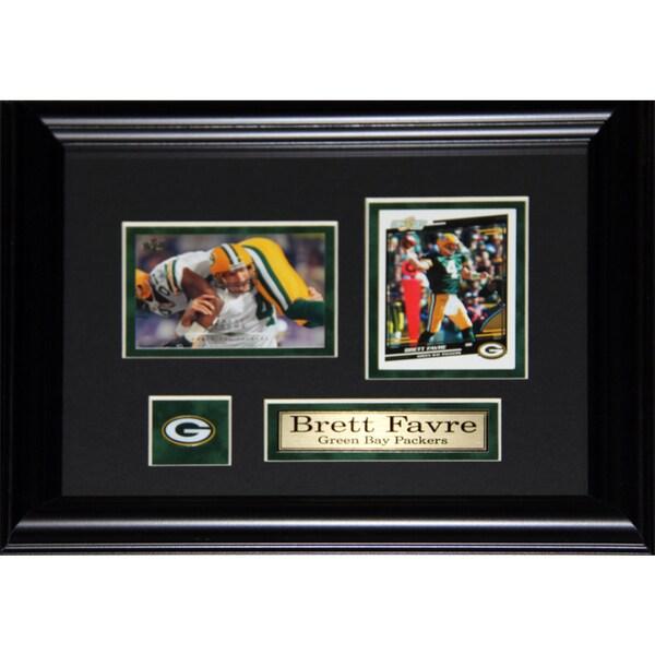 Brett Favre Green Bay Packers 2-card Frame