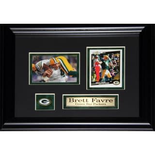 Brett Favre Green Bay Packers 2-card Frame