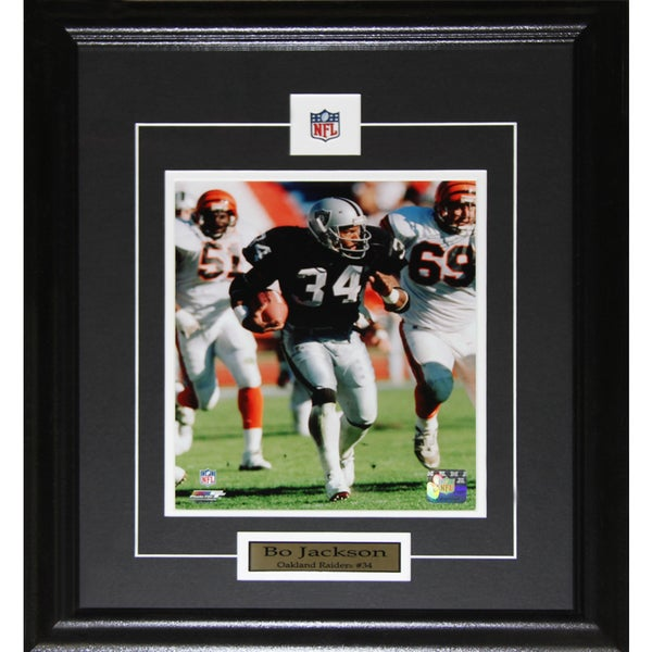 Bo Jackson Oakland Raiders 8x10-inch Frame - Free Shipping Today ...