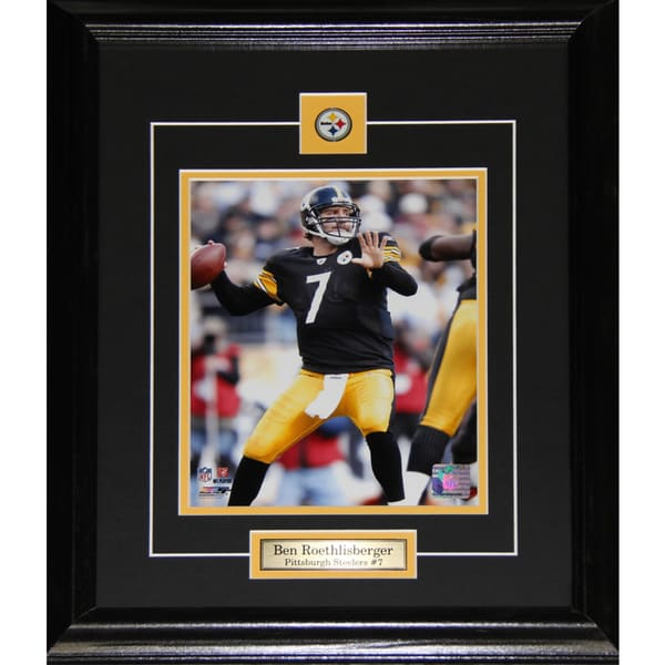 Ben Roethlisberger Pittsburgh Steelers 8x10-inch Frame