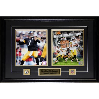 Ben Roethlisberger Pittsburgh Steelers 2-photo Frame