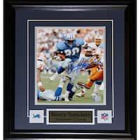 Barry Sanders Detroit Lions Signed 8x10-inch Frame