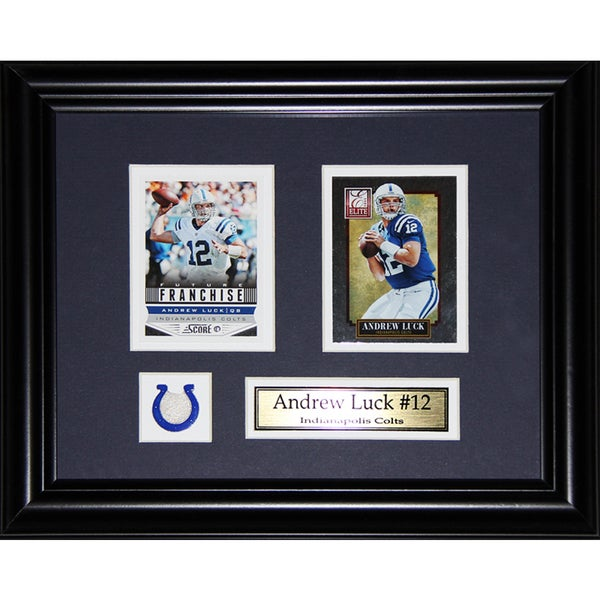 Andrew Luck Indianapolis Colts 2-card Frame