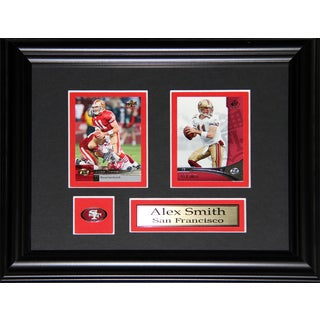 Alex Smith San Franciso 49ers 2-card Frame