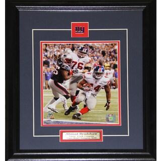 Ahmad Bradshaw New York Giants Superbowl 8x10-inch Frame