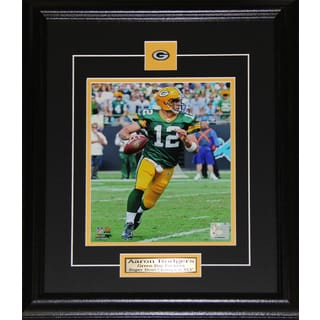 Aaron Rodgers Green Bay Packers 8x10-inch Frame