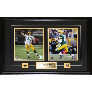 Aaron Rodgers Green Bay Packers 2-photo Frame