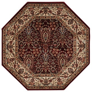 Nourison Persian Arts Burgundy Rug (7'9 Octagon)