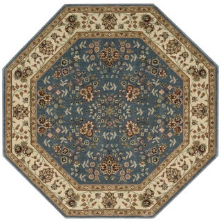 Nourison Persian Arts Light Blue Rug (7'9 Octagon)