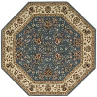 Nourison Persian Arts Light Blue Rug - 7'9 Octagon