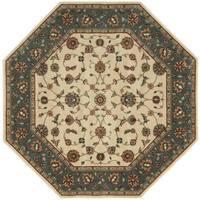 "Nourison Persian Arts Ivory Rug (7'9 Octagon) - 7'9"" Octagon"