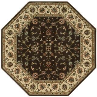 Nourison Persian Arts Chocolate Rug (7'9 Octagon)