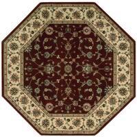 Nourison Persian Arts Brick Rug - 7'9 Octagon