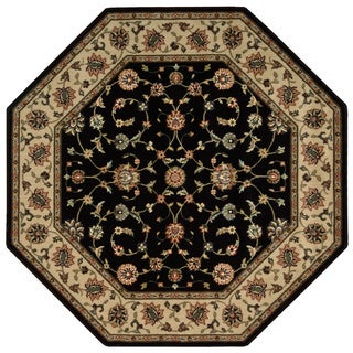 Nourison Persian Arts Black Rug (7'9 Octagon)
