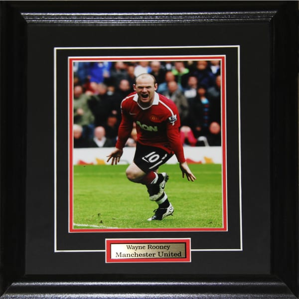 Wayne Rooney Manchester United 8x10-inch Frame